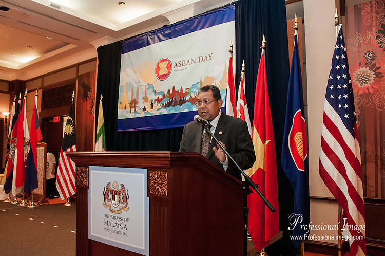 #ASEAN2015 celebration on August 7, 2015 at The Embassy of Malaysia © John Drew #ASEANDAY2015
