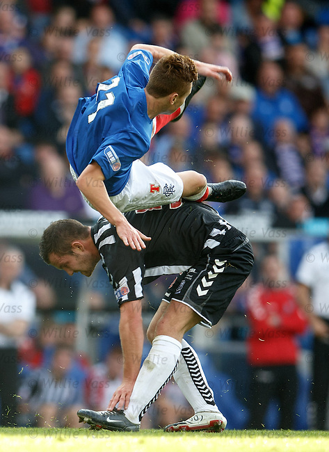 Lewis Macleod sent into orbit by Elgin's Jamie Duff