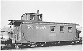 Caboose #0503 at Alamosa.<br /> D&amp;RGW  Alamosa, CO  Taken by Arend, Lad G.
