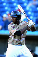 Quad Cities River Bandits outfielder Ariel Ovando #26 during a game against the Wisconsin Timber Rattlers on May 24, 2013 at Modern Woodmen Park in Davenport, Iowa.  Quad Cities defeated Wisconsin 4-3  (Mike Janes/Four Seam Images)
