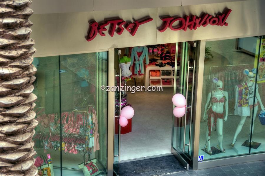 Betsy Johnson, Womans clothing Store, Santa Monica Place, Santa Monica CA