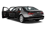 Car images close up view of 2017 Audi A8 3.0T LWB quattro tiptronic 4 Door Sedan doors