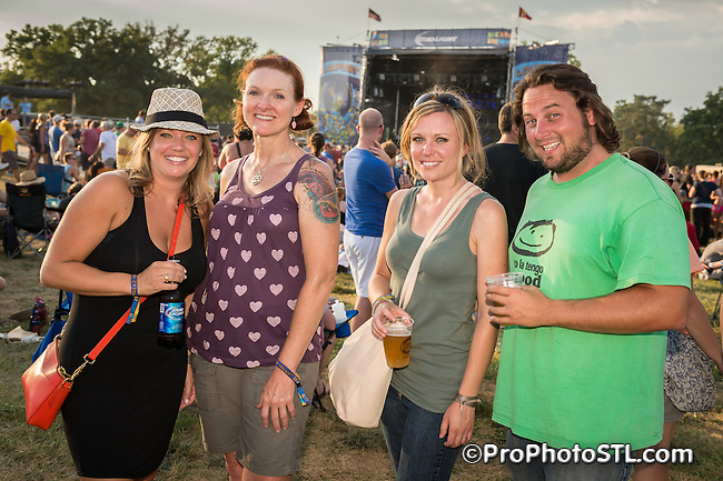 LouFest 2013 music festival presented in Forest Park in St. Louis, MO on Sept 7-8, 2013,