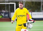 AMSTELVEEN - Keeper Derek van Essen (Pinoke) . Hoofdklasse competitie heren. Pinoke-SCHC (0-1) . COPYRIGHT  KOEN SUYK