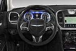 Car pictures of steering wheel view of a 2017 Chrysler 300 C 4 Door Sedan Steering Wheel