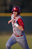 Indiana Hoosiers shortstop Brian Whilhite (11) during a game against the Illinois State Redbirds on March 4, 2016 at North Charlotte Regional Park in Port Charlotte, Florida.  Indiana defeated Illinois State 14-1.  (Mike Janes/Four Seam Images)