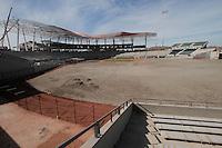 Avances de la construccion de el Estadio Sonora que sera la sede de la Serie del Caribe 2013.<br /> Hermosillo Sonora 2013.<br /> <br /> (Staff/NortePhoto)