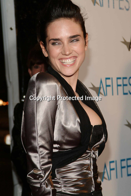 Jennifer Connelly<br />AFI Film Festival World Premiere of &quot;House of Sand and Fog&quot; <br />Cinerama Dome at ArcLight<br />Hollywood, California, USA<br />Sunday, November 9, 2003<br />Photo By Celebrityvibe.com/Photovibe.com