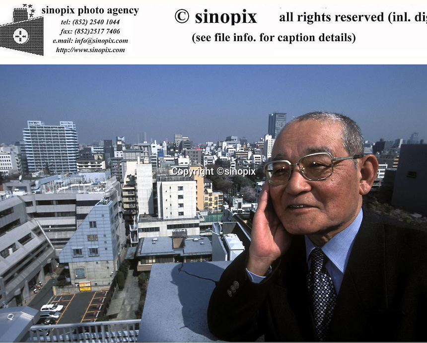 Mr. Moi, consultant of the Corus Asia Limited, poses in Tokyo, Japan.<br />