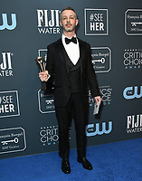 12 January 2020 - Santa Monica, California - Jeremy Strong. 25th Annual Critici's Choice Awards - Press Room held at Barker Hangar. Photo Credit: Birdie Thompson/AdMedia