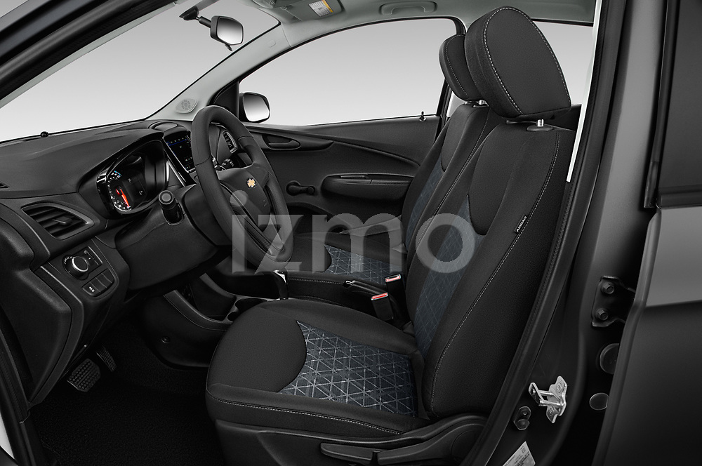 Front seat view of a 2019 Chevrolet Spark LS Select Doors Door Hatchback front seat car photos
