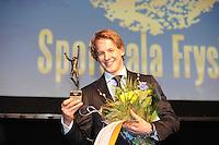 SPORT ALGEMEEN: HEERENVEEN: Sportstad, Sportgala Fryslân, 15-03-2012, Winnaar Sportman Epke Zonderland, © foto Martin de Jong