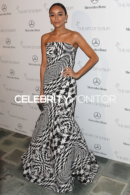 LOS ANGELES, CA - JANUARY 11: Ashley Madekwe at The Art of Elysium's 7th Annual Heaven Gala held at Skirball Cultural Center on January 11, 2014 in Los Angeles, California. (Photo by Xavier Collin/Celebrity Monitor)