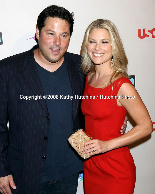 Greg Grunberg & Ali Larter   arriving at the NBC TCA Party at the Beverly Hilton Hotel  in Beverly Hills, CA on.July 20, 2008.©2008 Kathy Hutchins / Hutchins Photo .