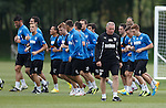 300813 Rangers training