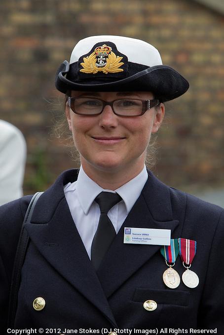 Lindsay Collins URNU Training Officer, Dieppe Raid 70th Anniversary Memorial Service