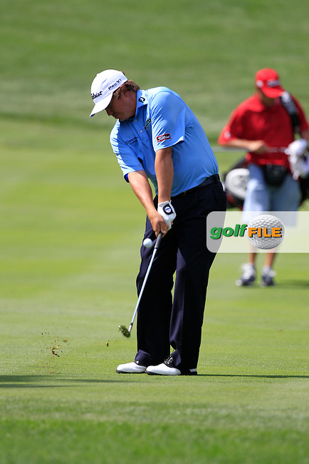 Jason Dufner (USA) in action on the 16th hole during Wednesday's practice day of the 2012 World Golf Championship Bridgestone Invitational at The Firestone Country Club, Akron, Ohio, USA 1st August 2012 (Photo Eoin Clarke/www.golffile.ie)