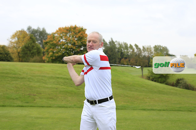 Intsruction shoot with John Kelly and Gordon<br /> Picture Fran Caffrey | Golffile