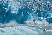 South Sawyer Glacier calving