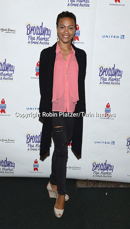 Carly Hughes attends the 28th Annual  Broadway Cares/ Equity Fights Aids Flea Market and Auction on September 21,2014 in Shubert Alley in New York City. <br /> <br /> photo by Robin Platzer/Twin Images<br />  <br /> phone number 212-935-0770