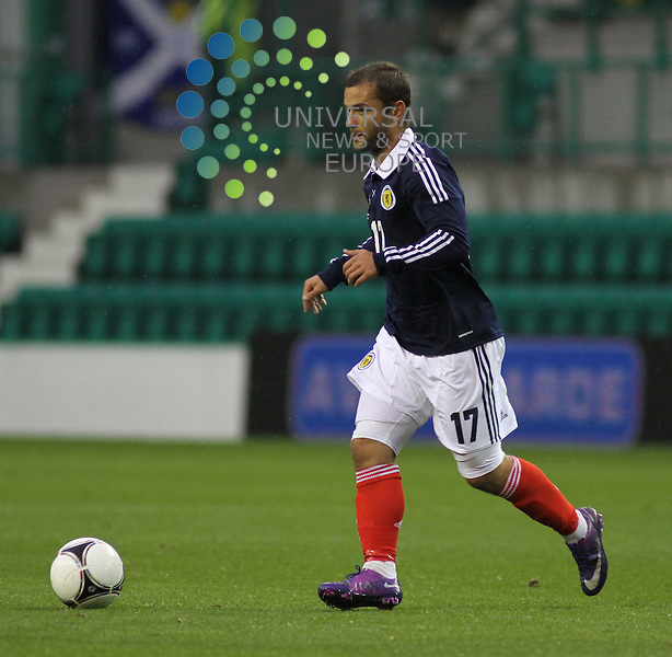 Shaun Maloney. Scotland take on Australia in a Vauxhall International Challenge Match at Easter Rd Stadium in Edinburgh. Universal News And Sport (Europe) All pictures must be credited to www.unpixs.com. (Office)0844 884 51 22.