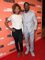 12 September 2018 - Hollywood, California - Ryan Michelle Bathe, Sterling K. Brown. '&quot;The Predator&quot; Special Screening Los Angeles  held at the Egyptian Theater. <br /> CAP/ADM/BT<br /> &copy;BT/ADM/Capital Pictures