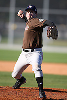 December 29, 2009:  Adam Keeney (09) of the Baseball Factory 49ers team during the Pirate City Baseball Camp & Tournament at Pirate City in Bradenton, FL.  Photo By Mike Janes/Four Seam Images