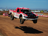 Apr 15, 2011; Surprise, AZ USA; LOORRS driver Rodrigo Ampudia (36) during round 3 and 4 at Speedworld Off Road Park. Mandatory Credit: Mark J. Rebilas-.