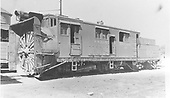3/4 front view of Rotary OO at Salida.<br /> D&amp;RGW  Salida, CO  Taken by Jackson, Richard B. - 8/7/1937