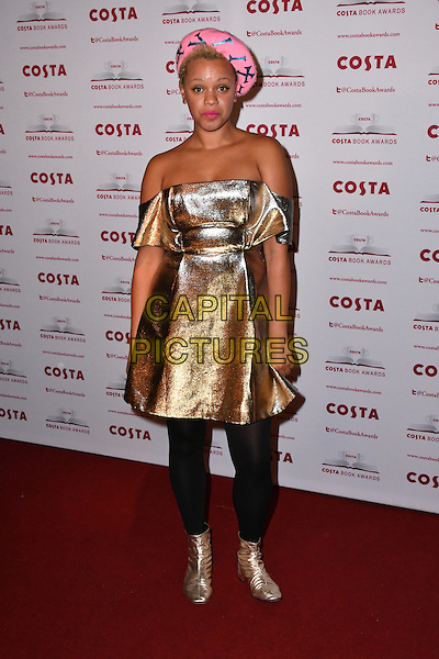 Gemma Cairney<br /> Costa Book Of The Year Award 2016, at Quaglino&rsquo;s, London, England on January 31, 2017.<br /> CAP/JOR<br /> &copy;JOR/Capital Pictures