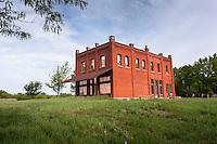 Kratzer Brothers General Store ruins, Volland, KS