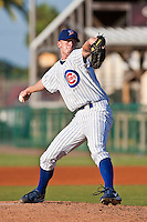 Robert Whitenack of the Daytona Cubs during the game at Jackie Robinson Ballpark in Daytona Beach, Florida on August 3, 2010. Photo By Scott Jontes/Four Seam Images