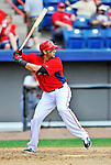 12 March 2012: Washington Nationals outfielder Michael Morse in action during a Spring Training game against the St. Louis Cardinals at Space Coast Stadium in Viera, Florida. The Nationals defeated the Cardinals 8-4 in Grapefruit League play. Mandatory Credit: Ed Wolfstein Photo