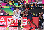 07.09.2014. Barcelona, Spain. 2014 FIBA Basketball World Cup, round of 8. Picture show U. Slokar in action during game between Slovenia v Usa at Palau St. Jordi.