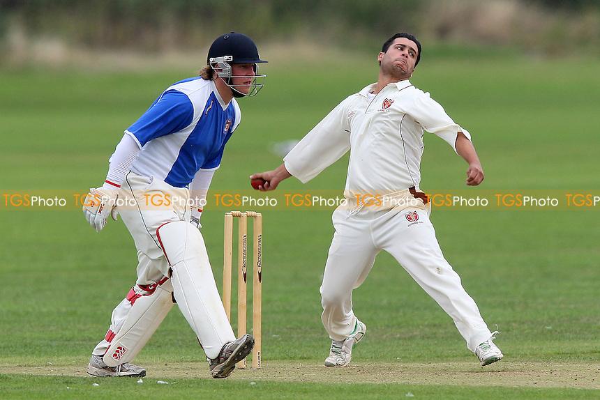 Hornchurch Athletic CC (batting) vs Barking CC - Lords International Cricket League T20 Finals Day at Ford CC - 04/09/10 - MANDATORY CREDIT: Gavin Ellis/TGSPHOTO - SELF-BILLING APPLIES WHERE APPROPRIATE. NO UNPAID USE. TEL: 0845 094 6026