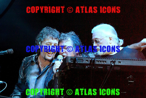 Deep Purple - vocalist Ian Gillan - performing live at the final show with founding member - keyboard player, Jon Lord - at the Apollo Hammersmith, London UK - 06 Sept 2002.. Photo credit: George Chin/IconicPix/AtlasIcons.com