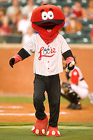 """Chattanooga Lookouts mascot """"Louie"""" between innings at AT&T Field in Chattanooga, TN, Wednesday, July 26, 2007."""
