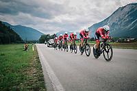 Team Trek-Segafredo<br /> <br /> UCI MEN&lsquo;S TEAM TIME TRIAL<br /> Ötztal to Innsbruck: 62.8 km<br /> <br /> UCI 2018 Road World Championships<br /> Innsbruck - Tirol / Austria