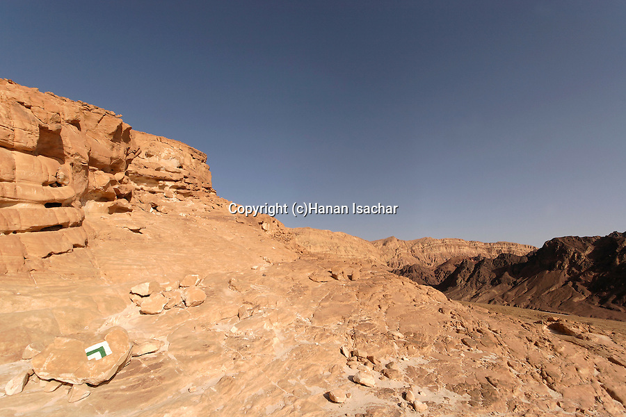 Israel, Negev. Mount Amir in Eilat Mountains