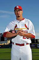 Mar 01, 2010; Jupiter, FL, USA; St. Louis Cardinals pitcher Kyle Lohse (26) during  photoday at Roger Dean Stadium. Mandatory Credit: Tomasso De Rosa/ Four Seam Images