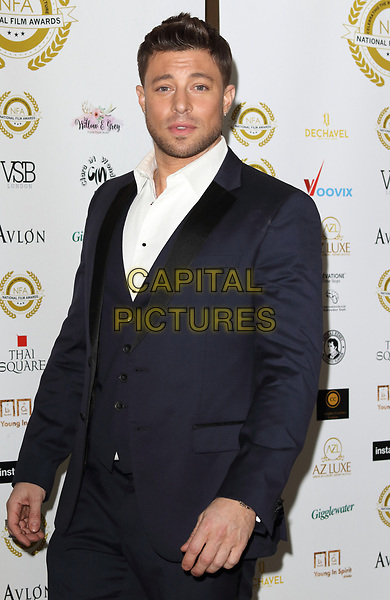 Duncan James at the National Film Awards at the Porchester Hall, London on  Wednesday 28 March 2018 <br /> CAP/ROS<br /> &copy;ROS/Capital Pictures