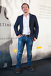"""The director of the film Salvador Calvo during the photocall of the start filming the spanish film """"1898. Los ultimos de Filipinas"""" in Madrid. May 05, 2016. (ALTERPHOTOS/BorjaB.Hojas)"""