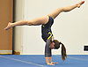 Gillian Murphy of Massapequa performs her floor routine during a Nassau County varsity gymnastics meet against Bethpage at Jamaica Avenue School in Plainview on Wednesday, Dec. 21, 2016. She scored a 9.25 in the event and won the all-around with a 36.35.
