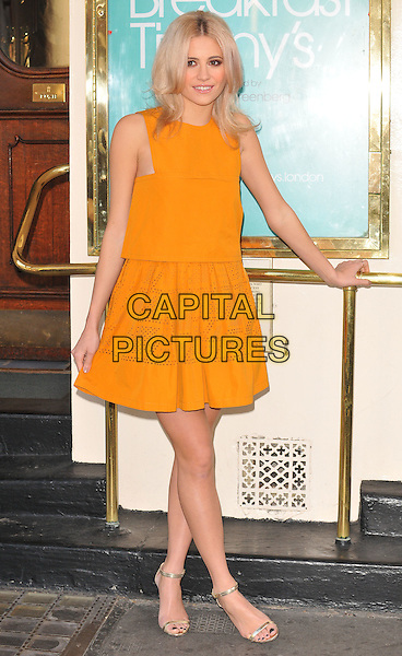 Victoria Louise &quot;Pixie&quot; Lott attends the Breakfast at Tiffany's press photocall, Theatre Royal Haymarket, Suffolk Street, London, UK, on Thursday 28 January 2016.<br /> CAP/CAN<br /> &copy;CAN/Capital Pictures