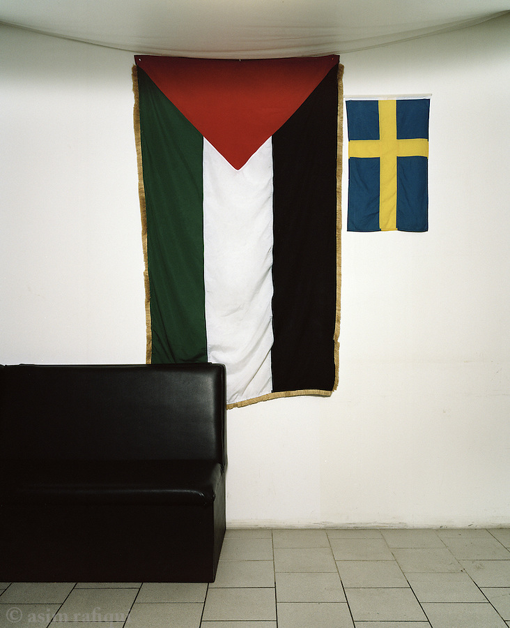 At the Palestine House in Gothenburg