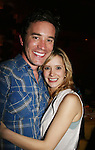 As The World Turns' Tom Pelphrey & Marnie Schulenburg at Trent Dawson's 6th Annual Martinis With Henry on April 17, 2010 at Latitude, New York City, New York. (Photo by Sue Coflin/Max Photos)