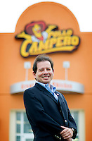 Executive Vice President of Business Development F. Rodolfo Jiménez (cq) at the new Dallas, Texas location of Guatemalan based Pollo Campero, Friday, March 28, 2008.  The company, which is competitive with McDonald's in Guatemala, hopes to open more than 1500 locations in the United States...MATT NAGER/ SPECIAL CONTRIBUTER