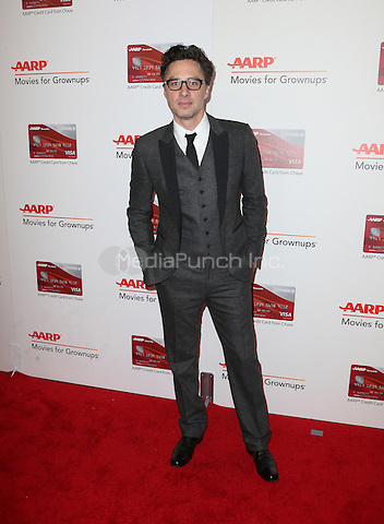 Beverly Hills, CA - FEBRUARY 06: Zach Braff, At 16th Annual AARP The Magazine's Movies For Grownups Awards, At The Beverly Wilshire Four Seasons Hotel In California on February 06, 2017. Credit: Faye Sadou/MediaPunch