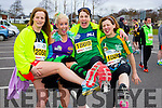 Breda Wyles, Marlyn O'Shea, Gretta Quirke, Lucy Fitzzel runners at the Kerry's Eye Tralee, Tralee International Marathon and Half Marathon on Saturday.