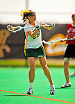 25 April 2009: University of Vermont Catamount midfielder Jessa Merrill, a Senior from Kennebunk, ME, in action against the Stony Brook University Seawolves at Moulton Winder Field in Burlington, Vermont. The Lady Cats defeated the visiting Seawolves 19-11 on Seniors Day, Vermont's last home game of the 2009 season. Mandatory Photo Credit: Ed Wolfstein Photo